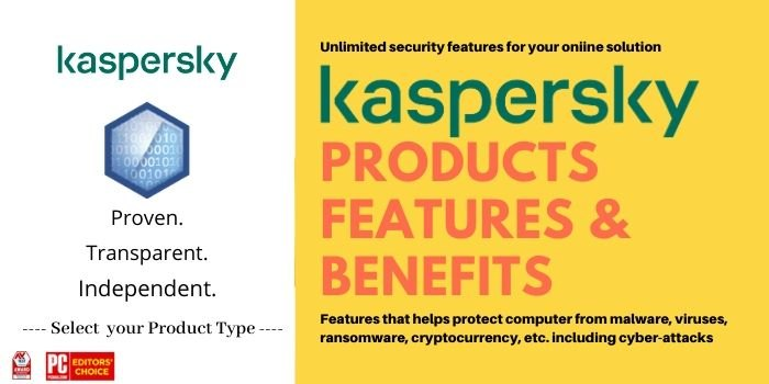 Kaspersky Product Features and benefits
