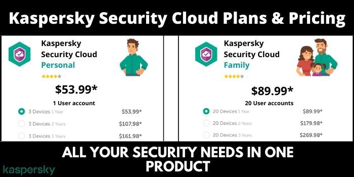 kaspersky security cloud pricing