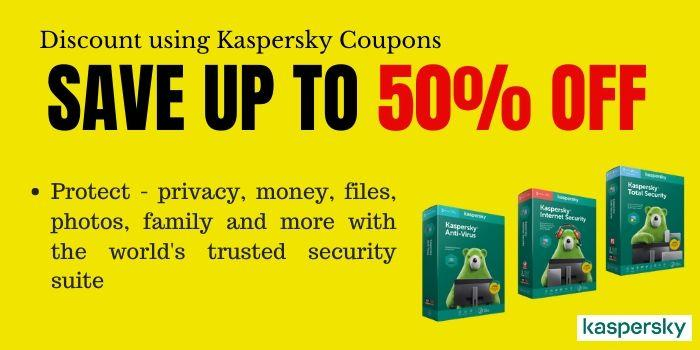 Kaspersky 50 Off Deal
