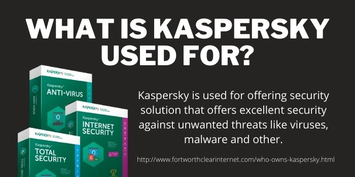 What is Kaspersky Used For