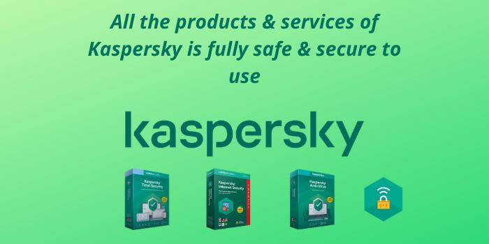 Kaspersky is safe to use