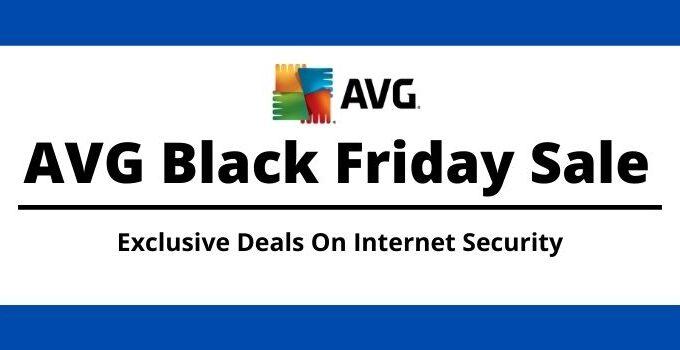 AVG Antivirus Black Friday Sale