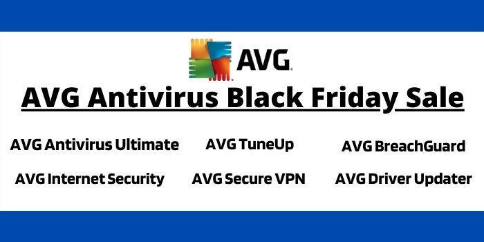 AVG Antivirus Black Friday Sale