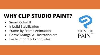 Why Clip studio paint