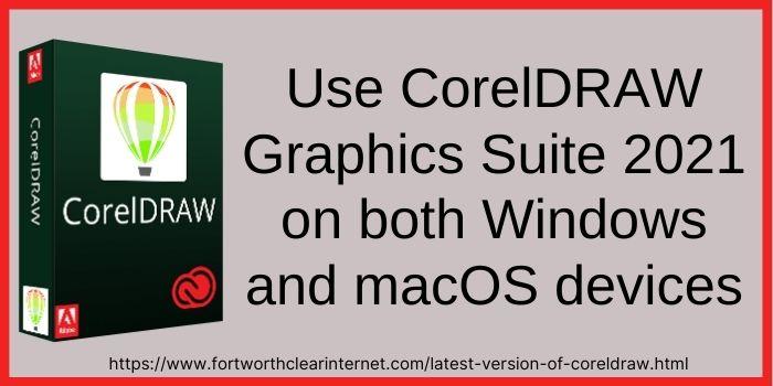 CorelDRAW software latest version