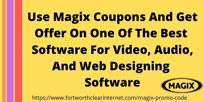 Magix Coupon Code 2021