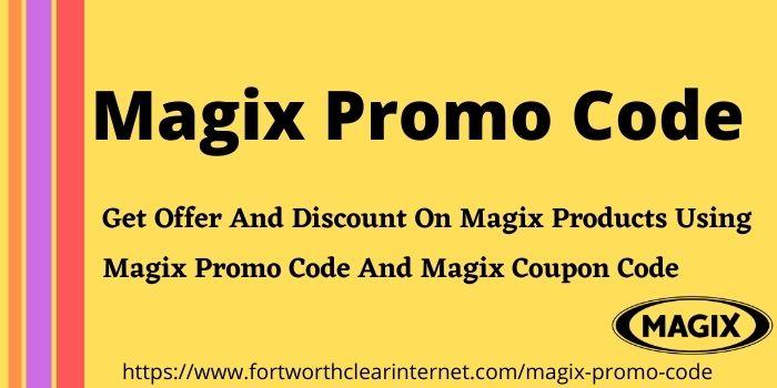 Magix Promo Code