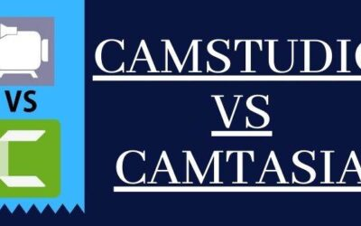 Camstudio Vs Camtasia 2021 | Which Is Better Camtasia Or Camstudio?