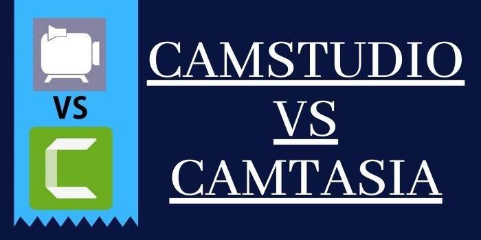 Camstudio vs Camtasia